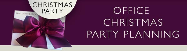 Baby It's Cold Outside! Time to Think About Your Office Christmas Party