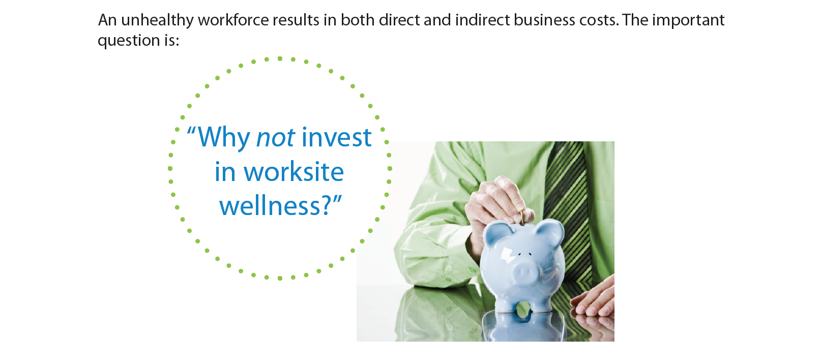 Wellbeing At Work Is Good For Business